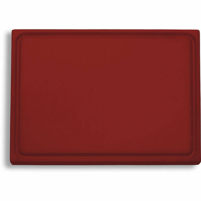 "F. Dick (9153000-15) Cutting Board, Brown (Cooked Food) 20 3/4"" x 12 3/4"" x 3/4""-cityfoodequipment.com"