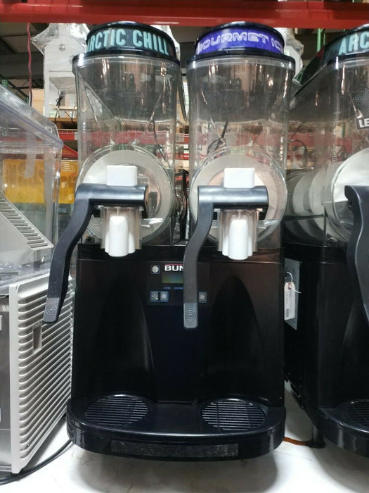BUNN 34000.0170 Ultra-2 HP Frozen Beverage System with 2 Hoppers - Black-cityfoodequipment.com