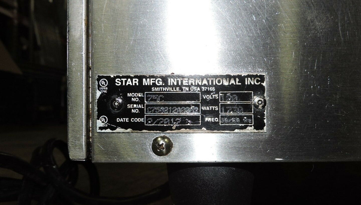 Star Grill-Max 75C Commercial Roller Grill-cityfoodequipment.com