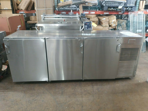 Infinity IBLRS-3D-SSD Stainless Steel High Back Bar Cooler - Used-cityfoodequipment.com