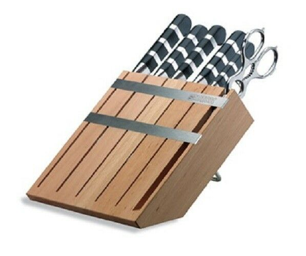 F. Dick (8197100) Wooden Knife Block with 1905 Series Knives-cityfoodequipment.com