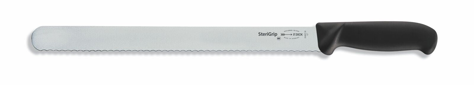 "F. Dick (8603730) 12"" Slicer Serrated Edge, SteriGrip-cityfoodequipment.com"