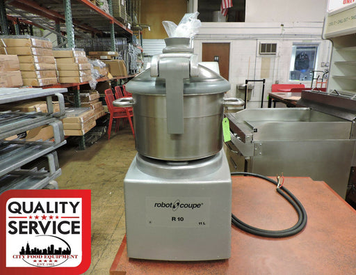 Robot Coupe R10 Commercial Table Top Cutter / Food Processor-cityfoodequipment.com