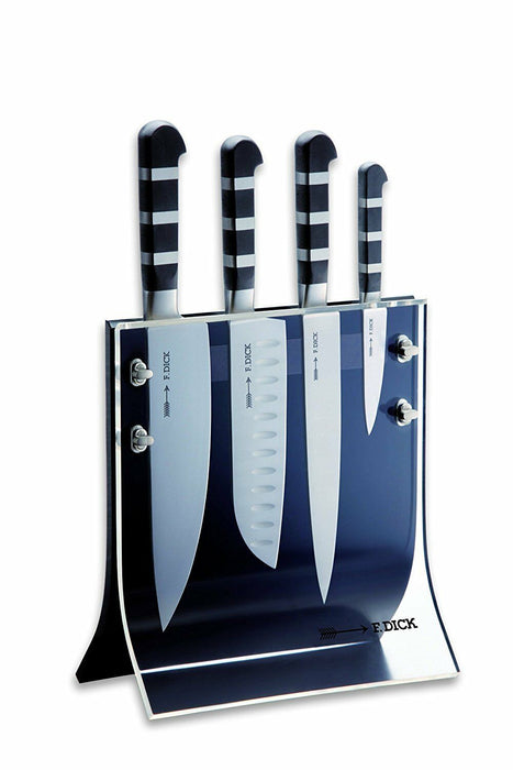 F. Dick (8197200) 4Knives, Knife Block with 4-Pieces - 1905 Series-cityfoodequipment.com