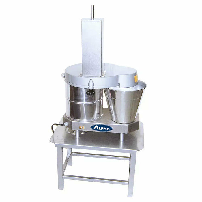 Alpha Commercial Continuous Feed Cheese Block Shredder, 110V-cityfoodequipment.com