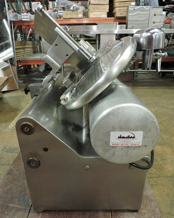Globe 825L Commercial Automatic Deli Meat Slicer-cityfoodequipment.com