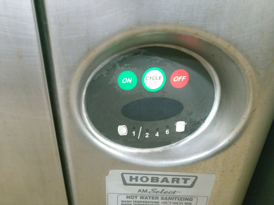 Used Hobart AM15 Hot Water/Chemical Sanitizing Straight-Thru Dishwasher-cityfoodequipment.com