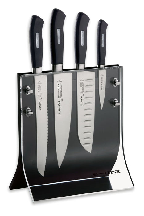 "F. Dick (8907200) Knife Block ""4Knives"", 4-pieces Active Cut-cityfoodequipment.com"
