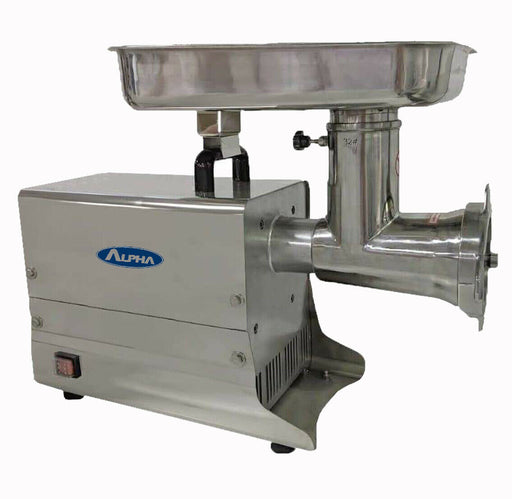 "Alpha 351SMG32 - #32 Head ""Unger"" Double Cut Meat Grinder / Mincer, 110V, 2 HP-cityfoodequipment.com"