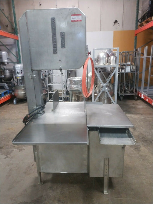 Butcher Boy SA20 F Industrial Meat Saw - 208V, 5HP-cityfoodequipment.com