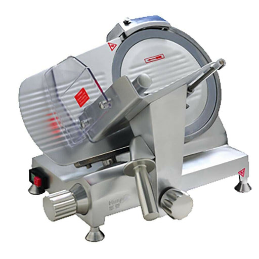 "Alpha HBS-250L Commercial Manual Meat Slicer 10""-cityfoodequipment.com"