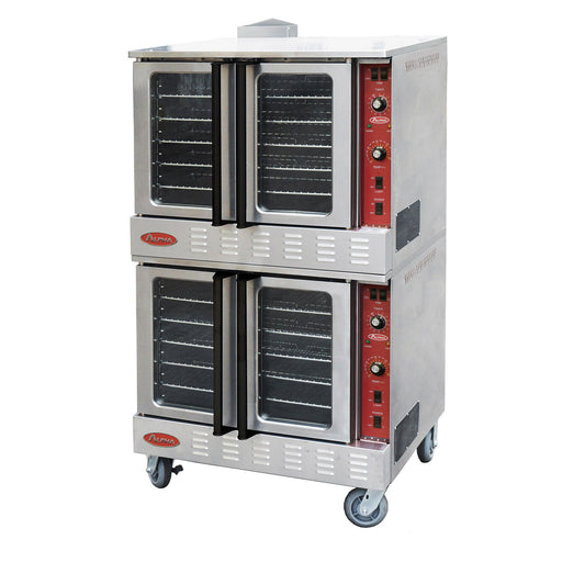 Alpha AGCO-DOUBLE Gas Full Size Double Deck Convection Oven-cityfoodequipment.com