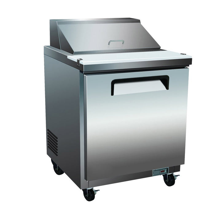 Alpha ASP29 1-Door 29″ Sandwich/Salad Prep Table-cityfoodequipment.com
