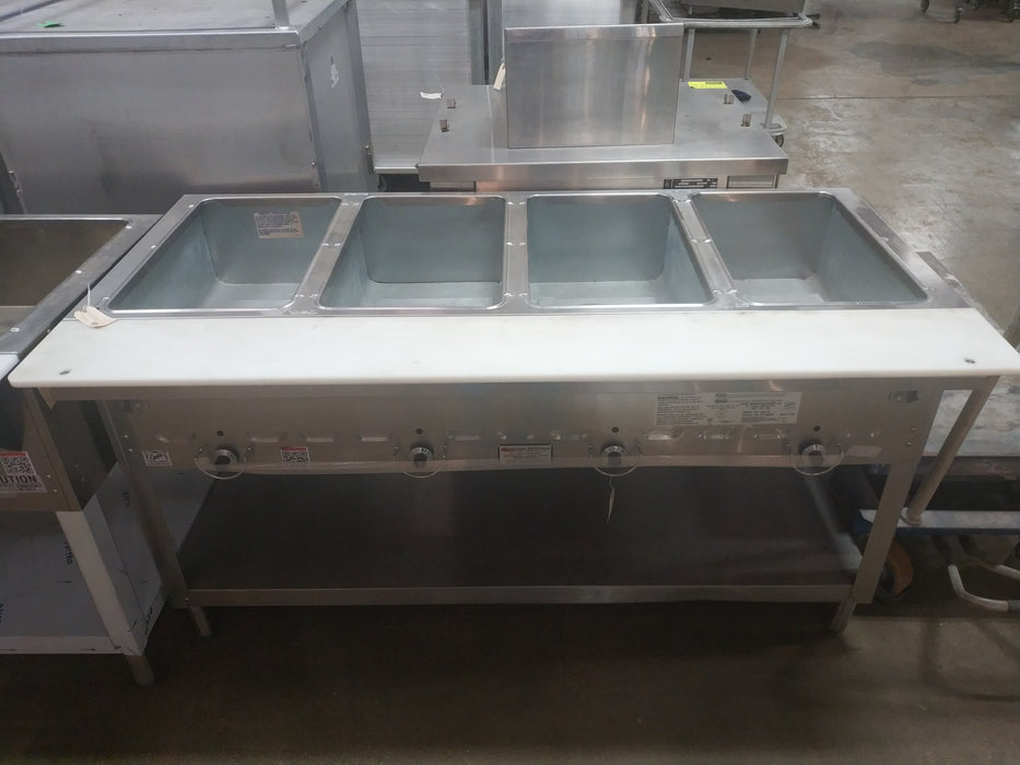 Duke 304 Four Compartment Steam Table - LP-cityfoodequipment.com