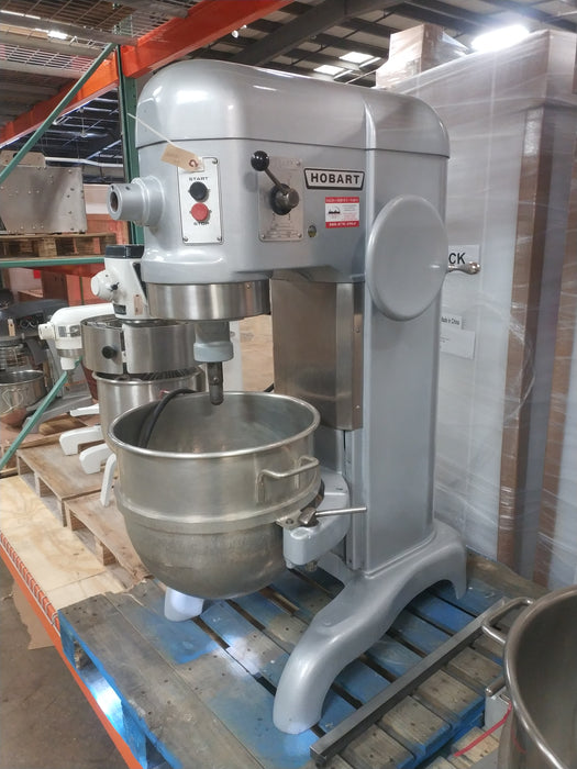 Hobart H600 - Commercial 60-Quart Dough Mixer - 1 Phase, 230V - Used-cityfoodequipment.com