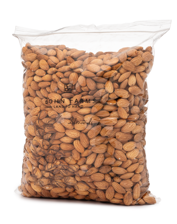 Raw Almonds - 5lb Bulk Bag