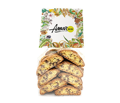 Amari Cantuccini Dark Chocolate Organic 180g