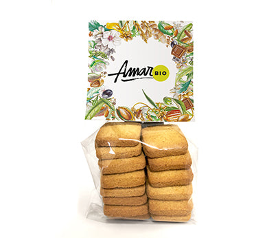 Amari Biscuits Buckwheat, Ginger & Lemon Organic 180g