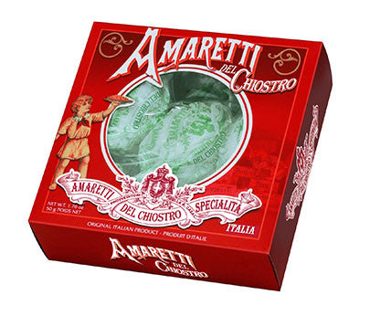 Chiostro Amaretti Crunchy Window Box 50g