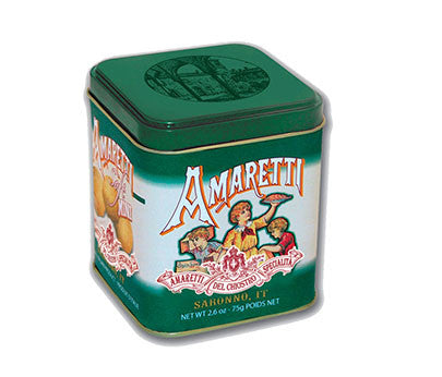 Chiostro Amaretti Soft Mini Cube Tin 75g