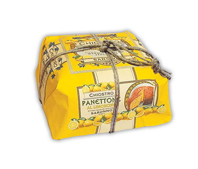 Chiostro Panettone - Limoncello (Hand Wrapped) 750g