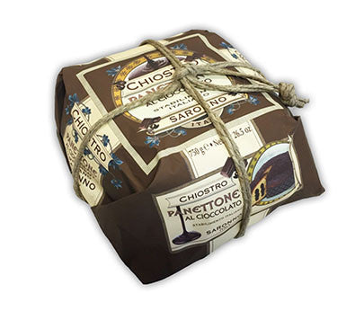 Chiostro Panettone - Chocolate (Hand Wrapped) 750g