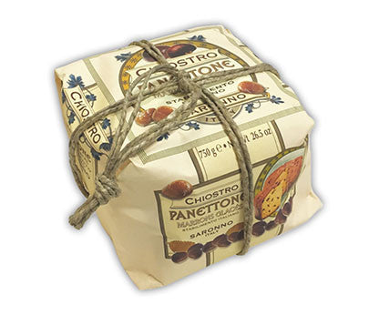 Chiostro Panettone - Marrons Glaces (Hand Wrapped) 750g
