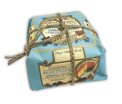 Chiostro Panettone - Sambuca (Hand Wrapped) 750g