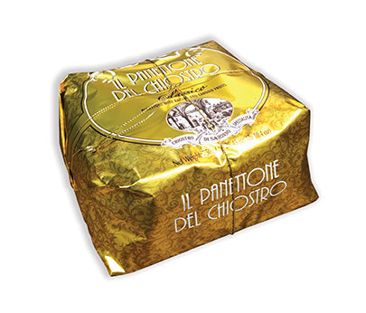 "Chiostro ""Gold"" Panettone - Classico (Hand Wrapped) 750g"
