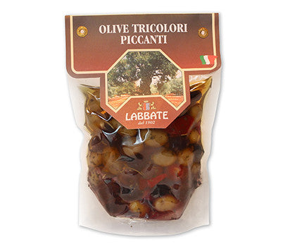 Labbate Spicy Mixed Olives