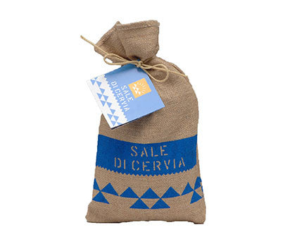 "Salina Di Cervia ""Sale Di Cervia"" Salt in Jute Bag 1kg"