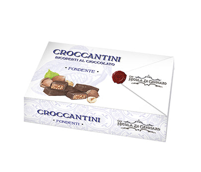Cavaliere Croccantini Box (Dark Choc Coated) 150g