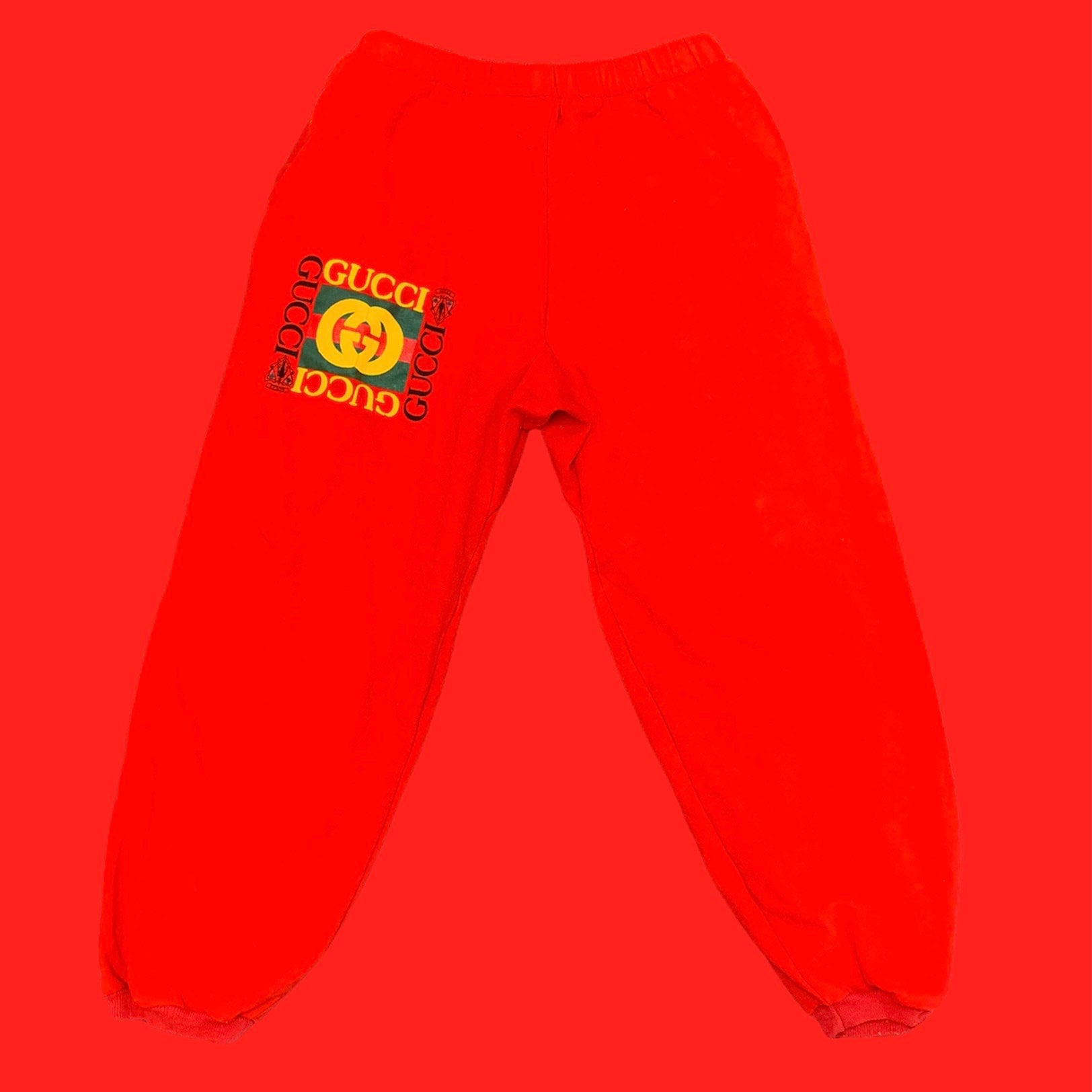 Double G Red Sweat Pants S