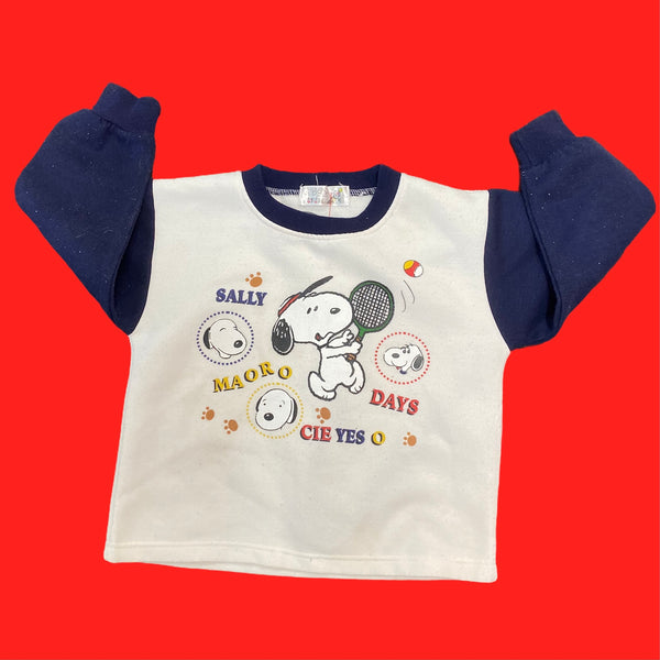 Snoopy Tennis Youth Crewneck 2T