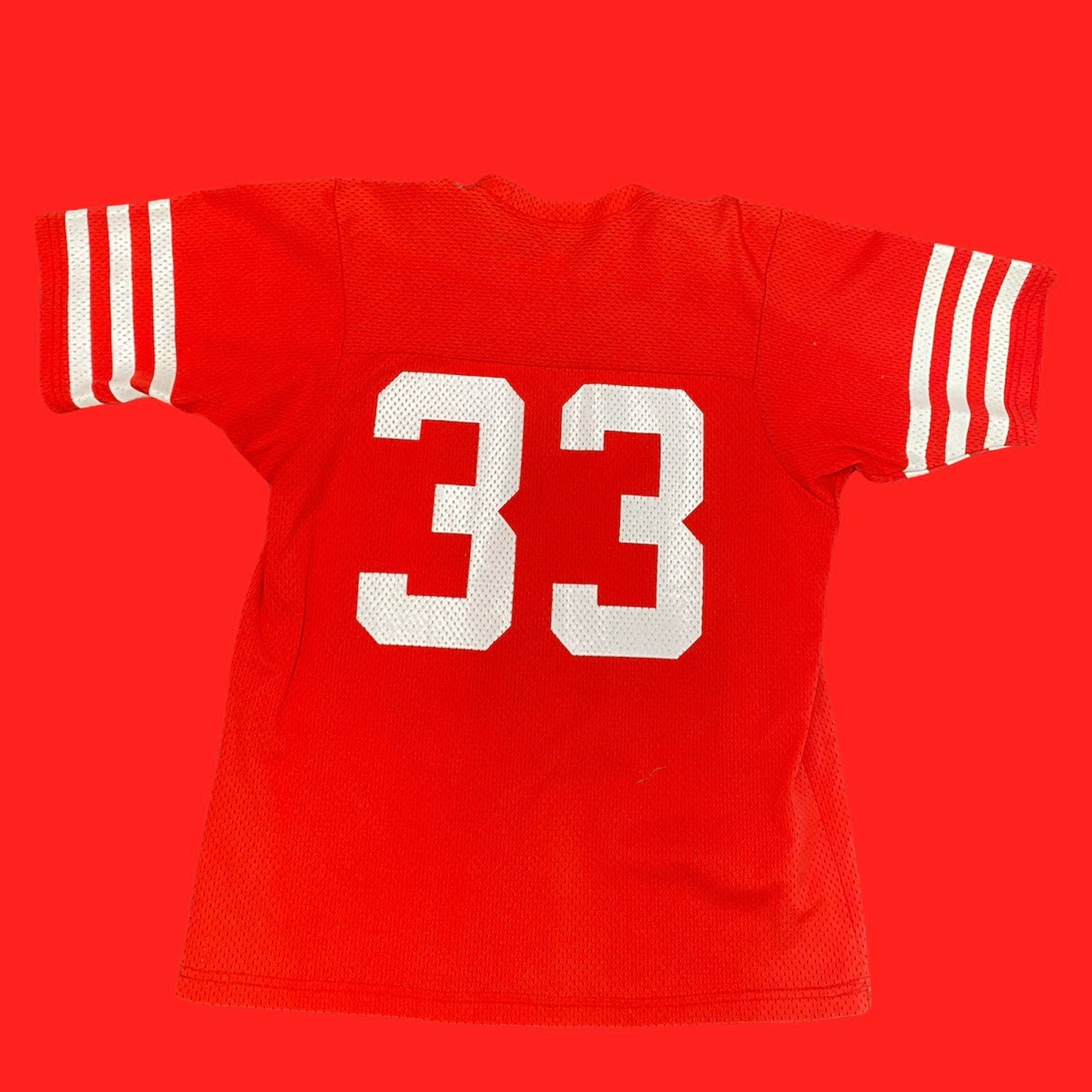 Red 33 Sand Knit NFL Jersey XL