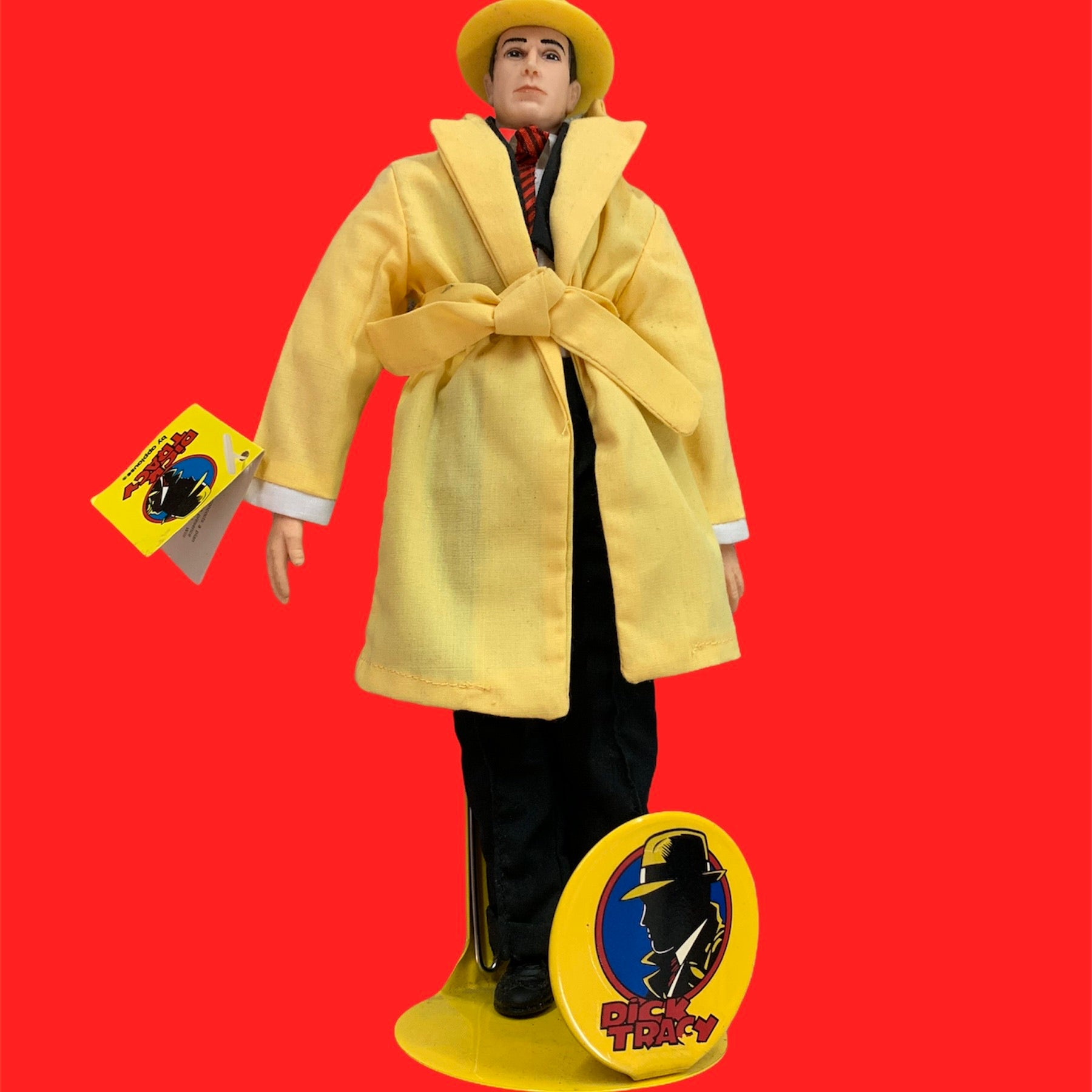 Dick Tracy Figure With Stand