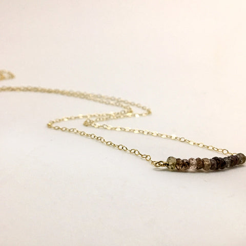 Raw Beauty Bar Necklace