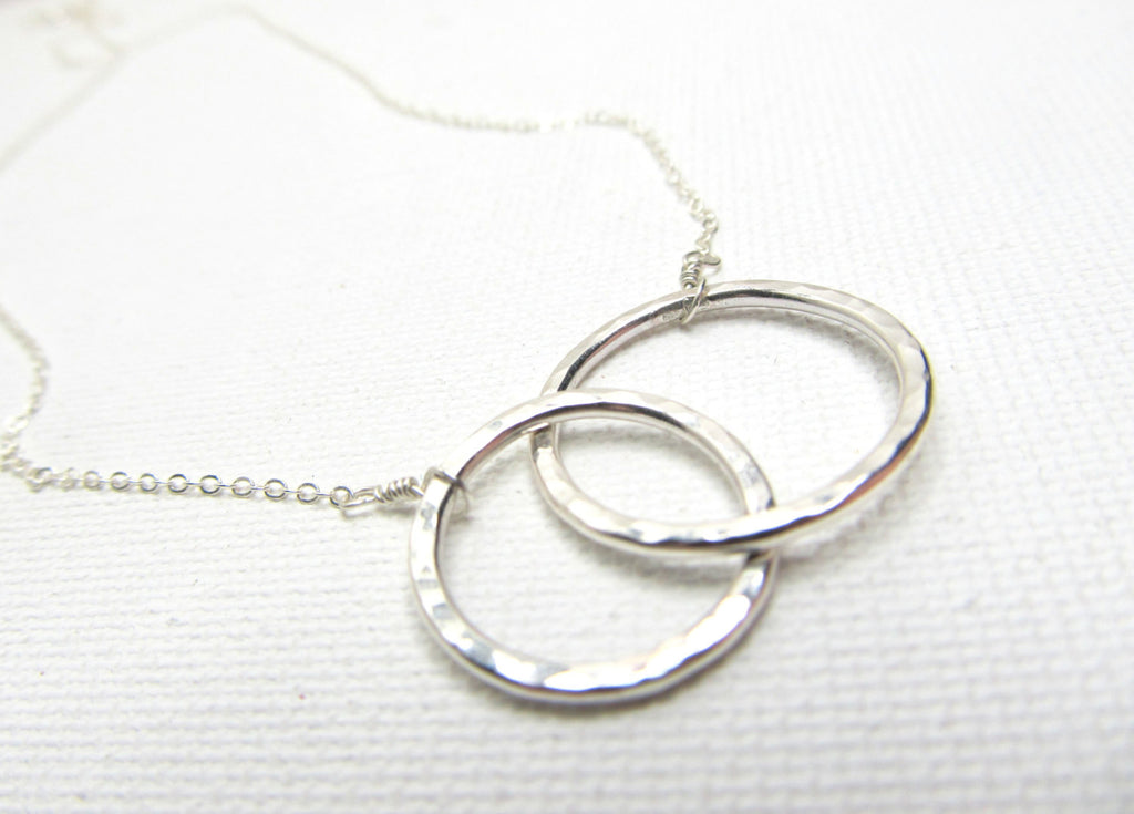 Silver Infinity Link Necklace (As Seen on The Vampire Diaries)