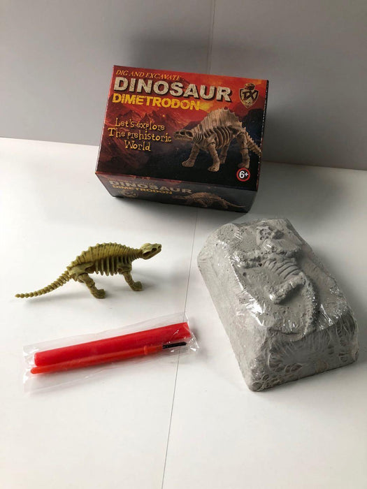 Small DIY Excavation Dinosaur Kit Box Option 1 - Packed Toy Boxes