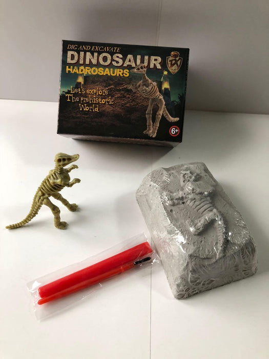 Small DIY Excavation Dinosaur Kit Box Option 2 - Packed Toy Boxes