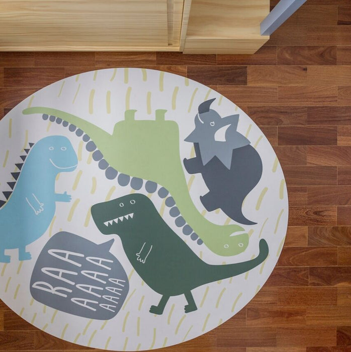 Playing with Dinosaurs Play Mat