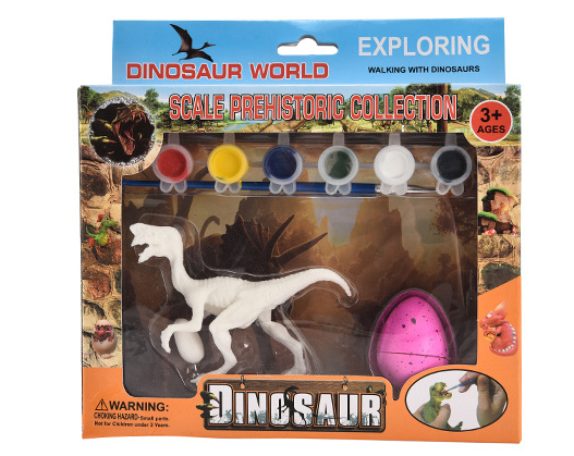 Single Paintable Dinosaur Figure