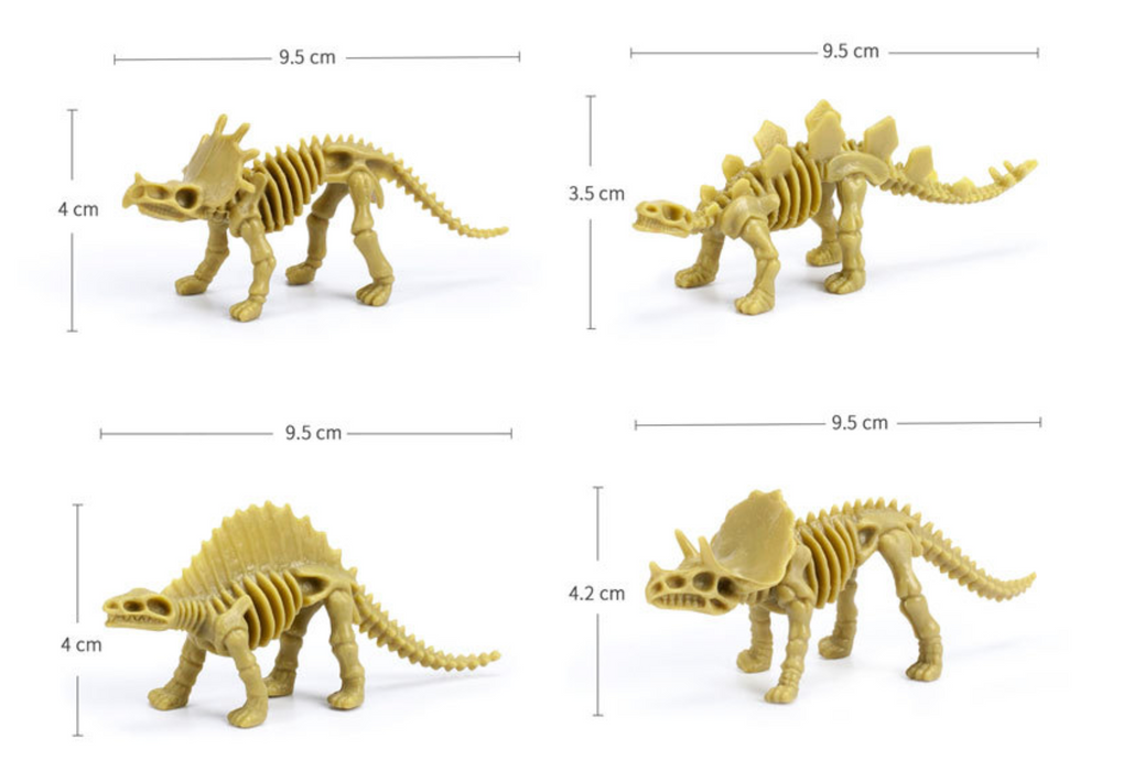 Dinosaur Skeleton Ultra Light Clay