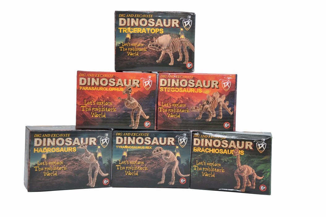 Small DIY Excavation Dinosaur Kit Box Package 2