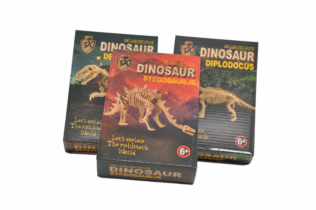 Large DIY Excavation Dinosaur Kit Box Package 3
