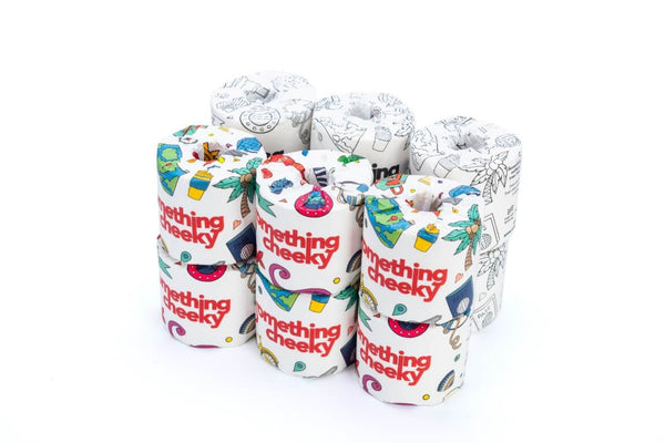 Something Cheeky Bamboo Toilet Paper 12 Rolls