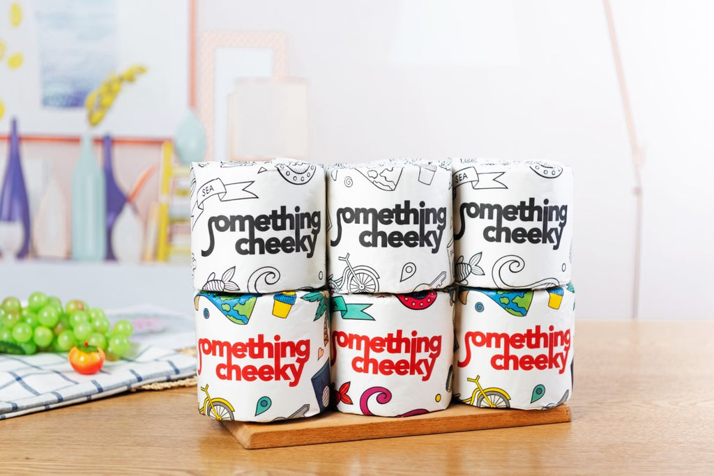 Something Cheeky Bamboo Toilet Paper 24 Rolls