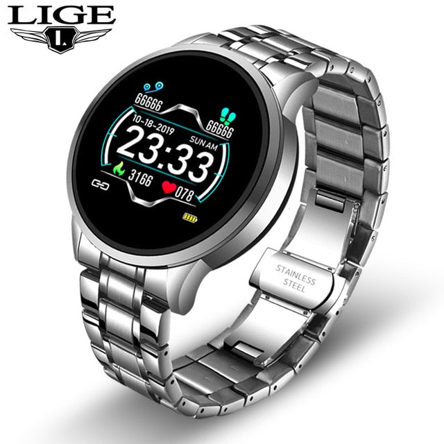2020 New Stainless Steel Digital Watch Men Sport Watches Electronic Le Wrist Beast