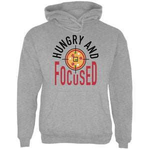 Hungry and Focused Hooded Sweatshirt