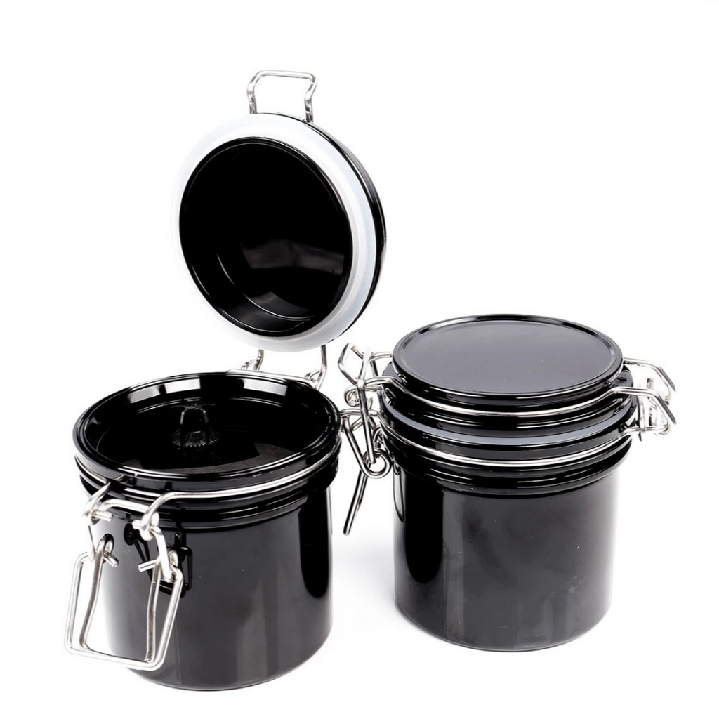 Adhesive Glue Containers - Black